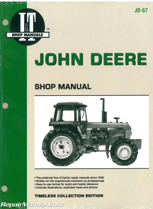 small resolution of john deere 4050 4250 4450 4650 4850 tractor service manual wiring diagram for john deere 4250