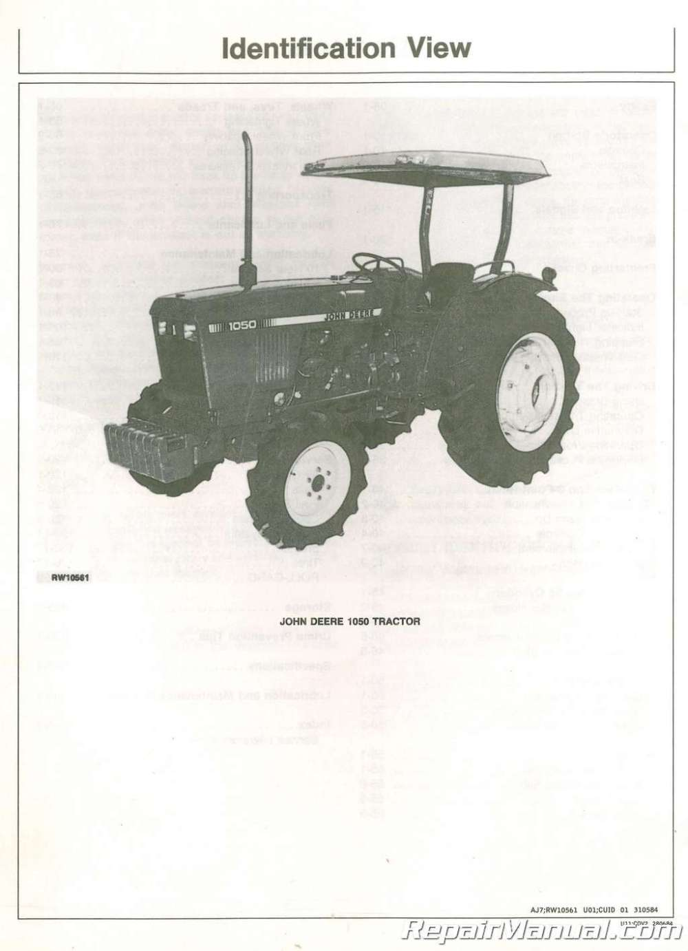 medium resolution of turf tractor technical repair shop service manual john deere out of stars 1 950 diagrams for tractors john deere 850 fast service and 100 secure