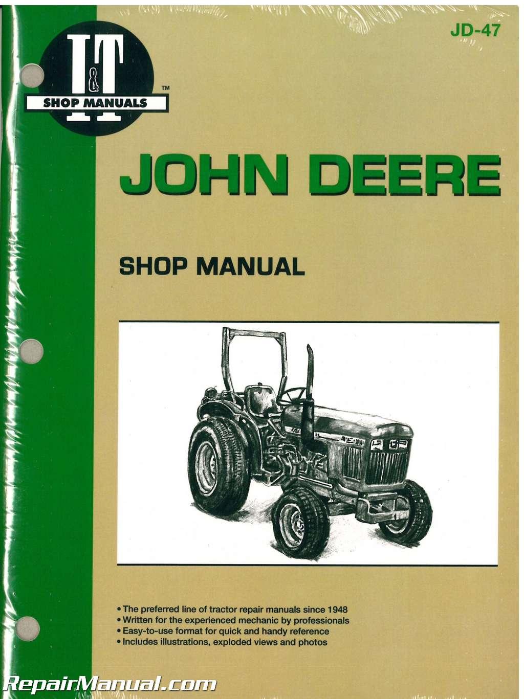 John Deere 950 Wiring Diagram For Alternator John Deere 850 950 1050 Farm Tractor Workshop Manual
