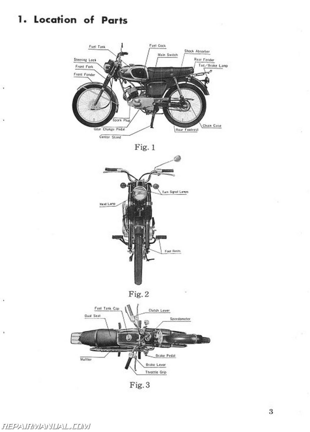 Kawasaki 85-J1T Owners Manual