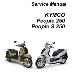 kymco people 250 and s 250 scooter service manual  [ 1024 x 1325 Pixel ]