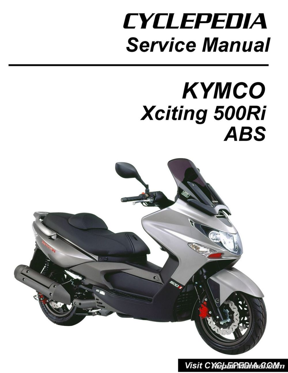 medium resolution of kymco xciting 500ri abs scooter service manual