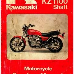 Motorcycle Wiring Diagram 2005 Ford Ranger Fuse Box Kawasaki 1981-1983 Kz1100 1984-1985 Zn1100 Shaft Drive Service Manual