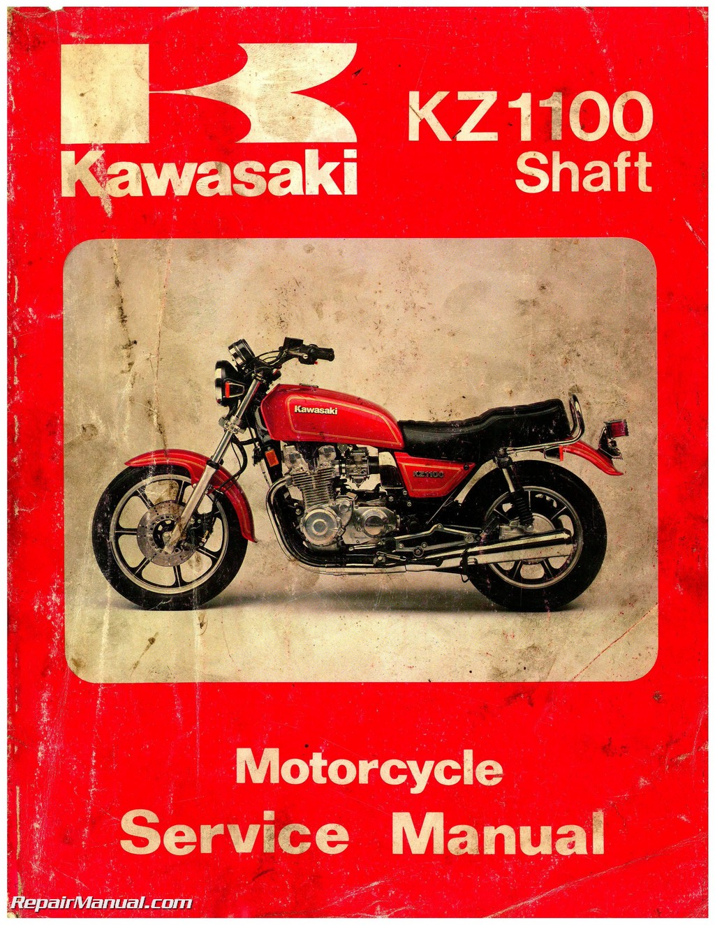 hight resolution of kawasaki 1981 1983 kz1100 1984 1985 zn1100 shaft drive motorcycle service manual