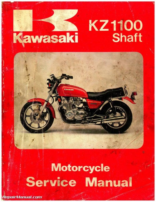 small resolution of kawasaki 1981 1983 kz1100 1984 1985 zn1100 shaft drive motorcycle service manual
