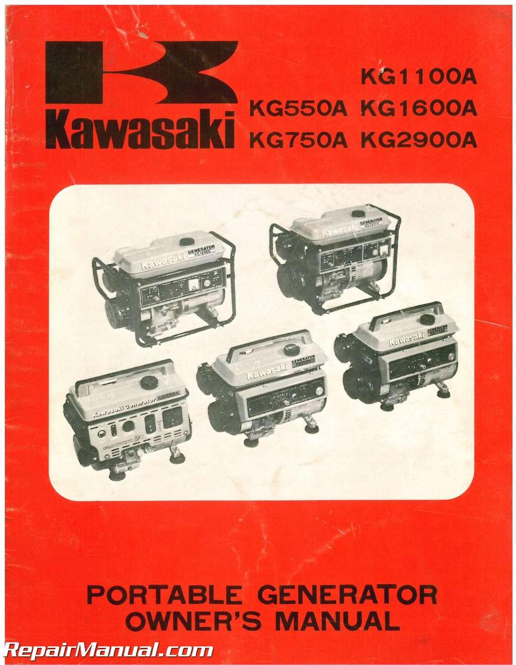 free wiring diagrams vw golf mk1 indicator diagram used kawasaki kg550a kg750a kg1100a kg1600a kg2900a portable generator owners manual