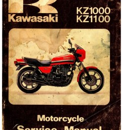 1981 1982 kawasaki kz1000 kz1100 motorcycle repair service manual wiring an exhaust fan 78 kz1000 b2 wiring schematic [ 1024 x 1325 Pixel ]