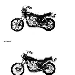 1982 Kz1000 Wiring Diagram 2004 Toyota 4runner Jbl 1981 Kawasaki Kz1100 Motorcycle Repair Service