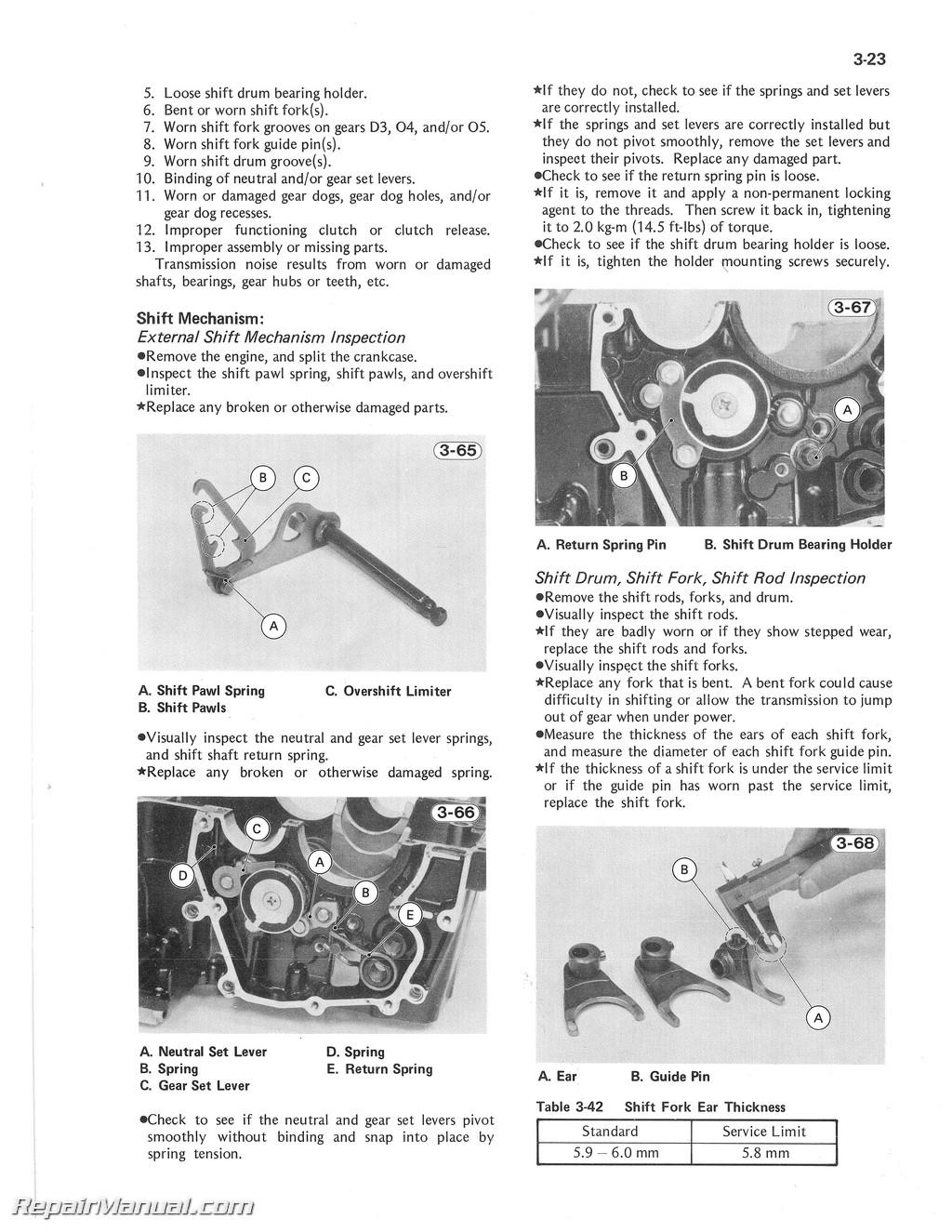kz1000 wiring diagram 3 way diverter valve 1981 1982 kawasaki kz1100 motorcycle repair service