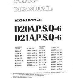 komatsu d31p wiring diagram [ 1024 x 1357 Pixel ]