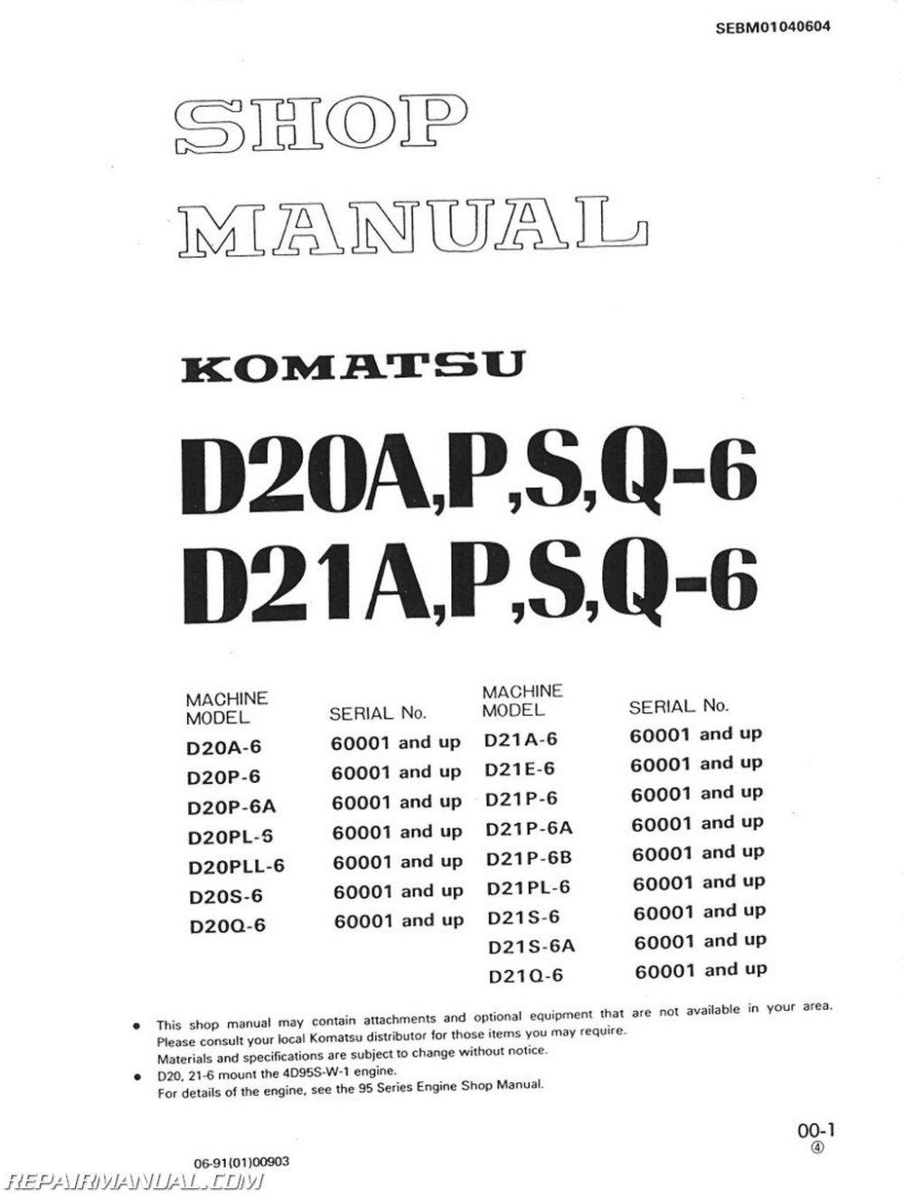 medium resolution of komatsu d31p wiring diagram