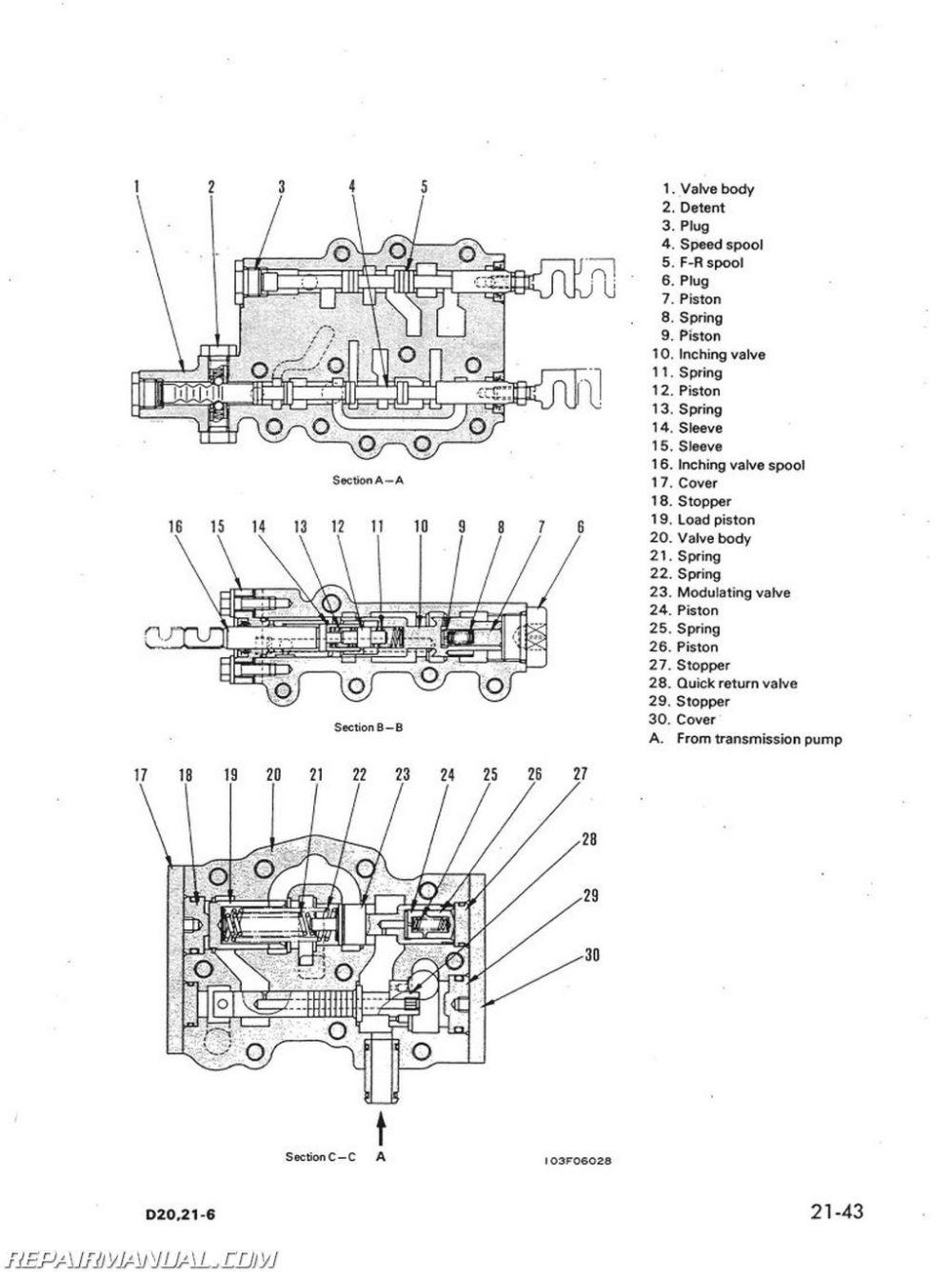 medium resolution of komatsu d31p wiring diagram wiring diagram rh anynews co komatsu d31p 17 komatsu d31p parts
