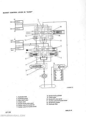 Komatsu D20 D21 D31 D37 CHASSIS ONLY Service Manual