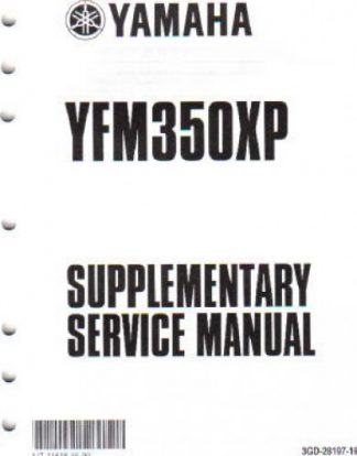 1977 Yamaha YZ80D Motorcycle Owners Service Maintenance Manual