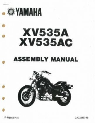 1986 Yamaha TT350S Assembly Manual