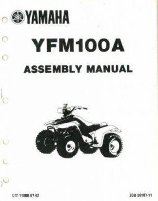 1980 Yamaha XT250G Assembly Manual