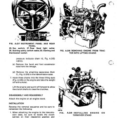 Long S Stepper Motor Wiring Diagram Triumph Spitfire Harness 360 460 510 Series Tractor Service Manual