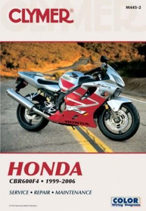 19992006 Honda CBR600 F4 Clymer Motorcycle Repair Manual