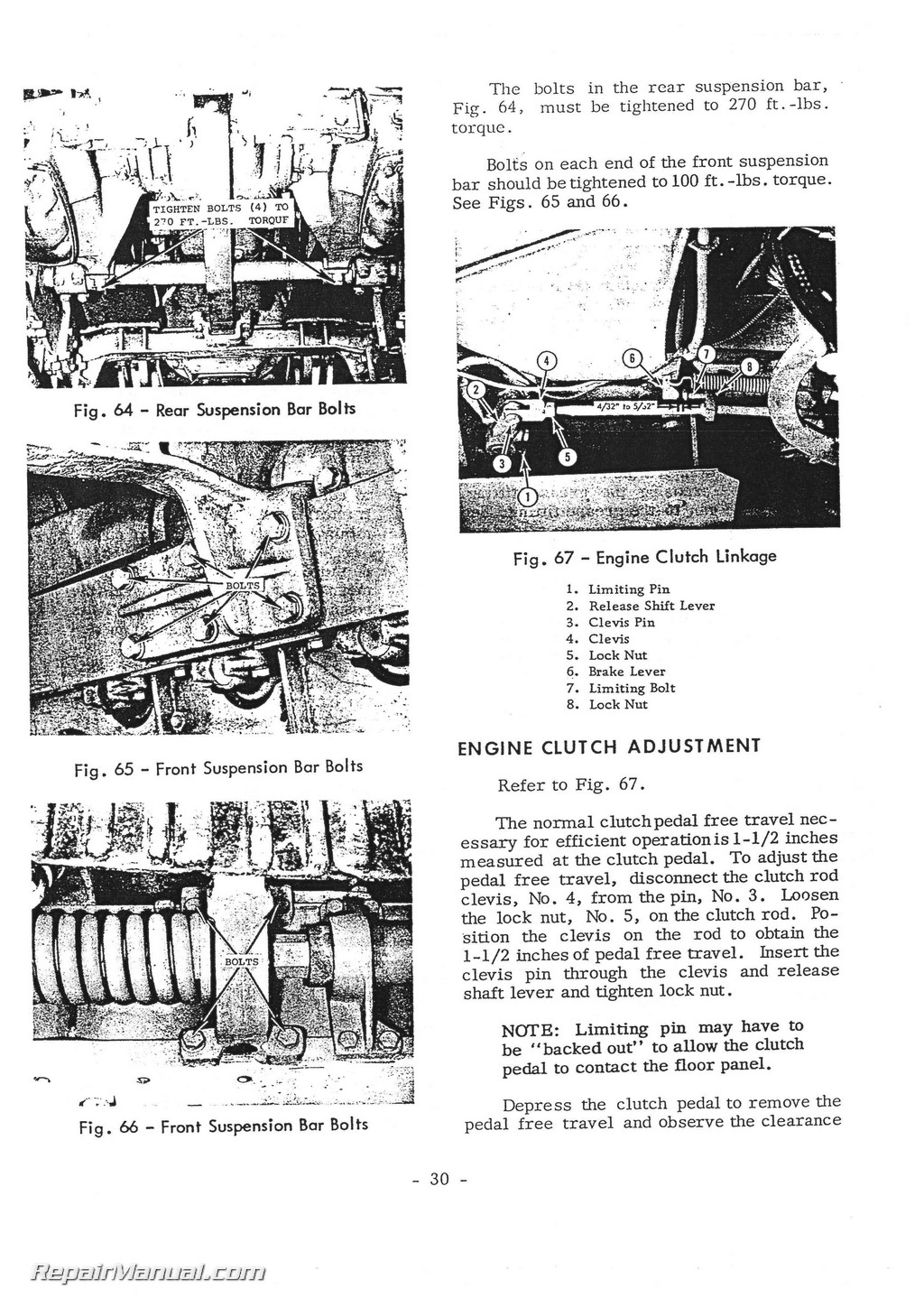 Massey Fergusonsel Crawler Operators Manual