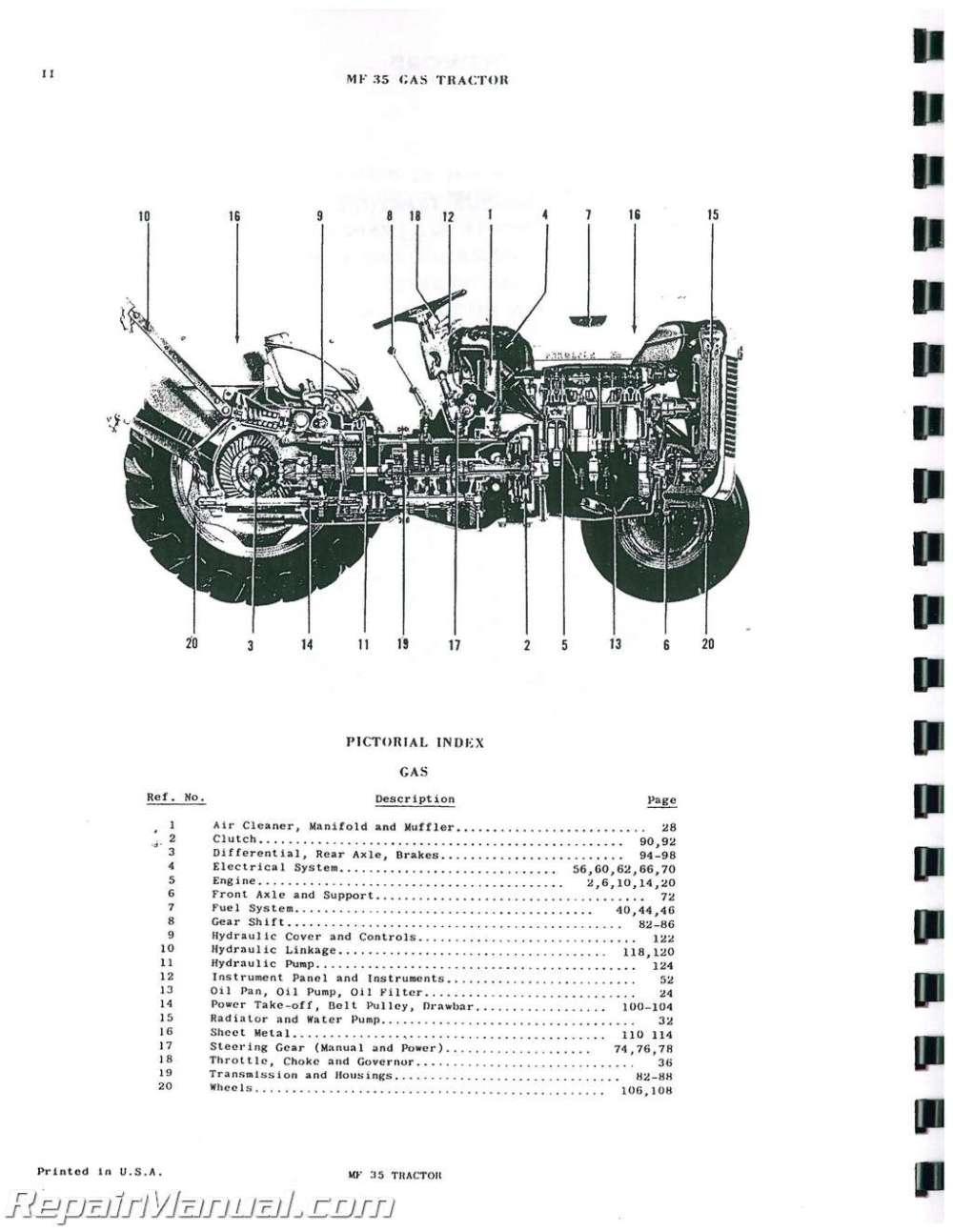 medium resolution of mey ferguson wiring diagram wiring diagram and schematics mf 35 hydraulic oil 1962