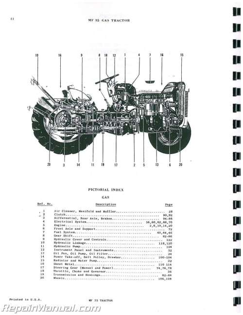 small resolution of mey ferguson wiring diagram wiring diagram and schematics mf 35 hydraulic oil 1962