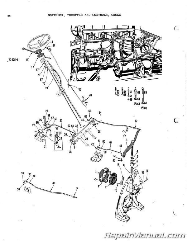 Massey Harris MF33 33K Parts Manual