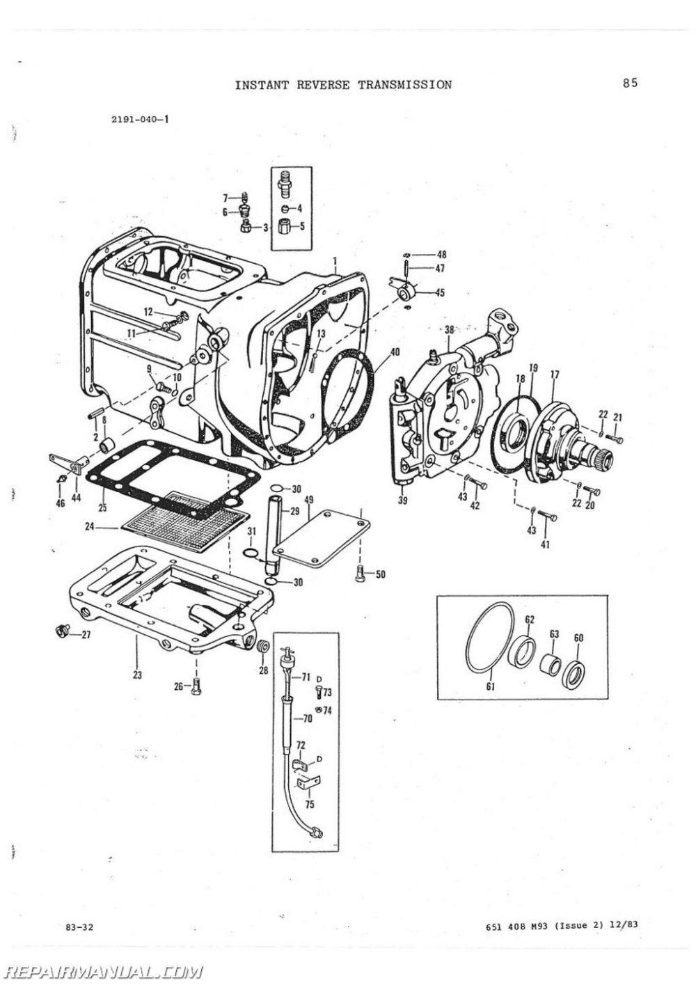 medium resolution of massey ferguson mf60 tractor loader backhoe parts manual ford c4 transmission parts to 30 parts diagram transmission