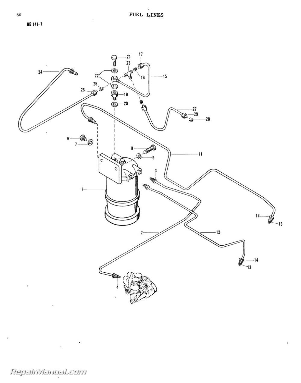 medium resolution of massey ferguson model mf20 mf25 mf30 industrial wheel tractor parts manual