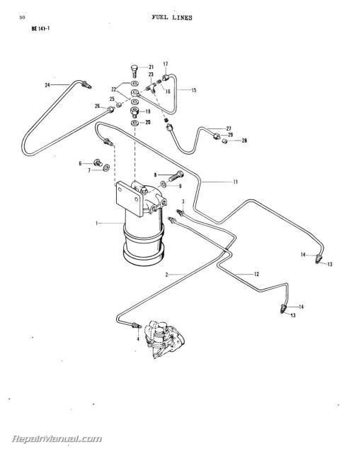 small resolution of massey ferguson model mf20 mf25 mf30 industrial wheel tractor parts manual