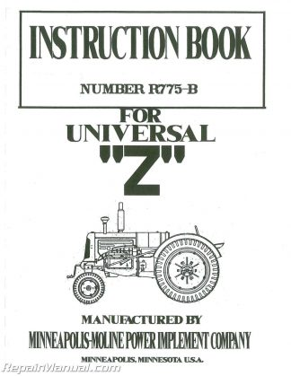 Massey Ferguson MF3165 Tractor Service Manual