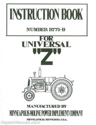 Massey Ferguson MF3165 Tractor Service Manual