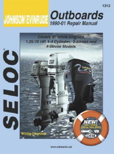 25 hp johnson outboard parts diagram harley davidson gas golf cart wiring seloc 1990-2001 evinrude inline boat engine repair manual