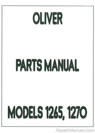White Tractor Service Manual 2-70 2-85 2-105 2-150 2-135 2