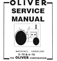 oliver 1650 wiring diagram [ 1024 x 1448 Pixel ]