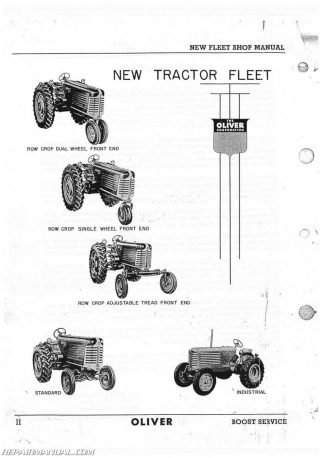 Oliver 77 Parts Manual