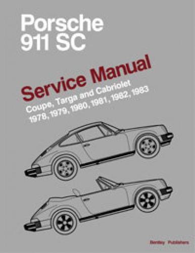 Porsche 911 SC Printed Service Manual 1978-1983