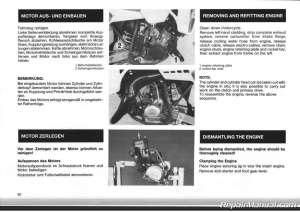 1986 KTM 125 GS MX MXC Motorcycle Owners Repair Manual | eBay