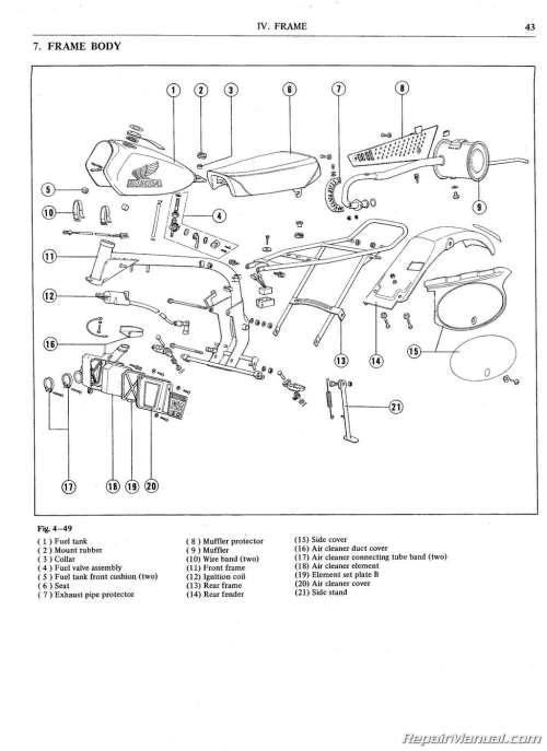 small resolution of honda mr50 wiring diagram free wiring diagram for you u2022 wiring diagram honda cl360 honda