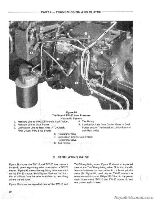 small resolution of ford tractor engine schematic