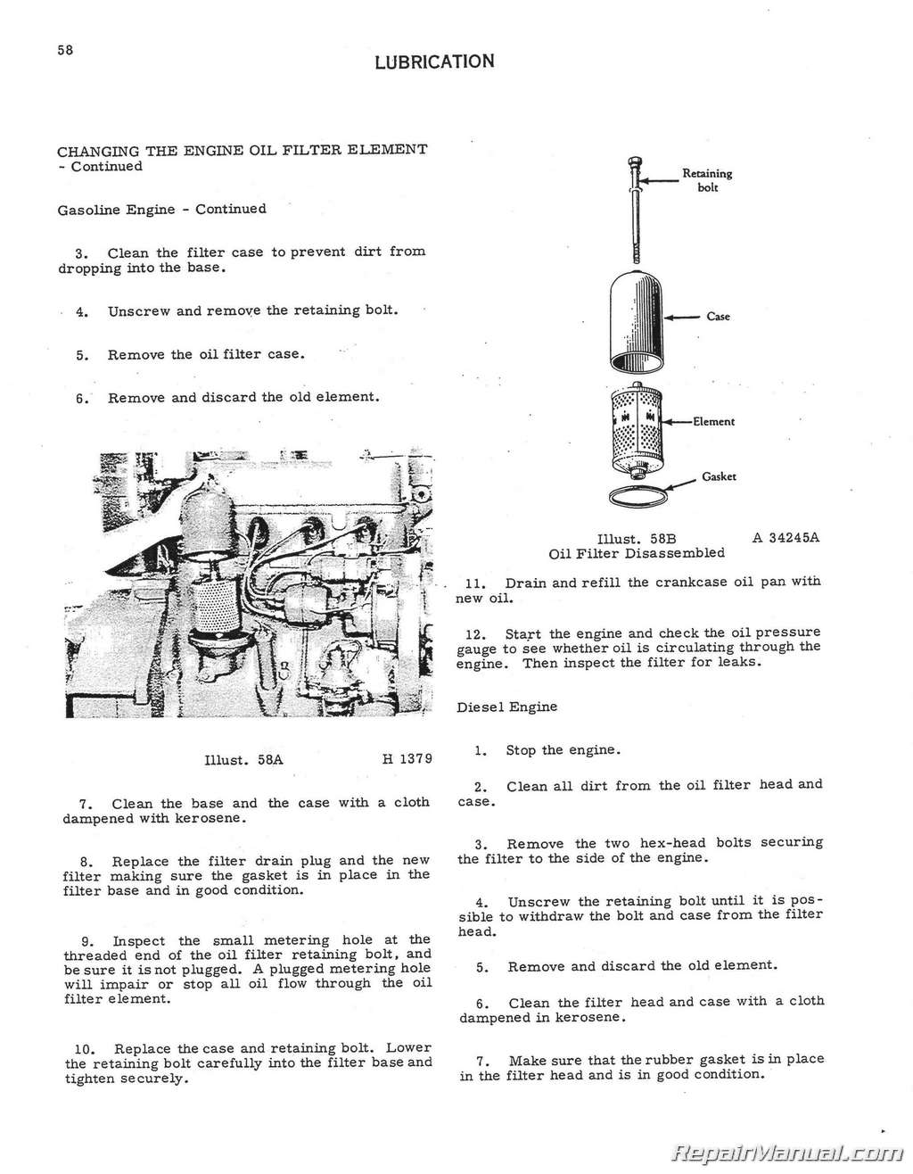 Farmall Oil Pump Diagram