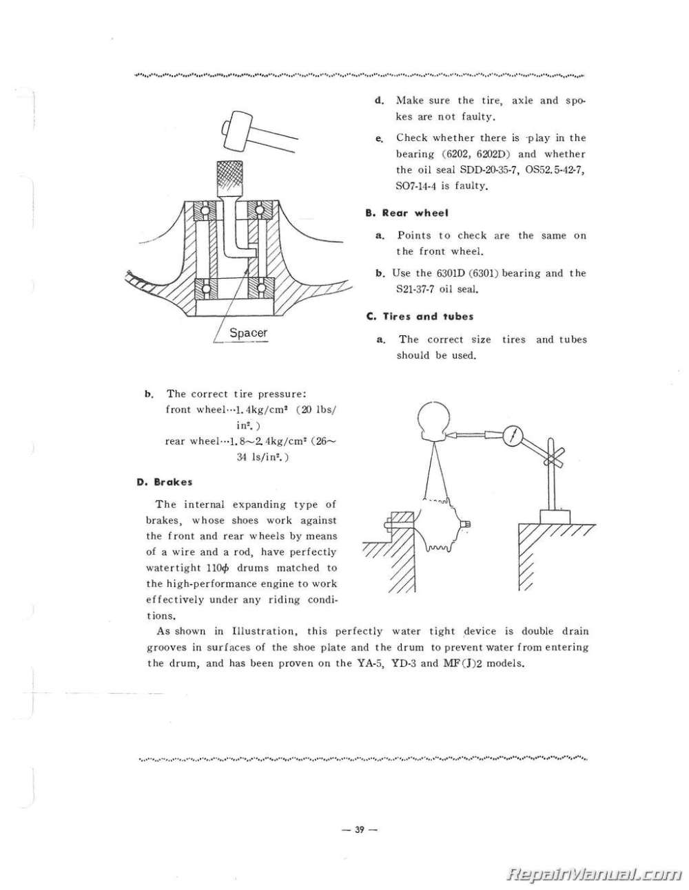 medium resolution of yamaha g1a ignition wiring diagram