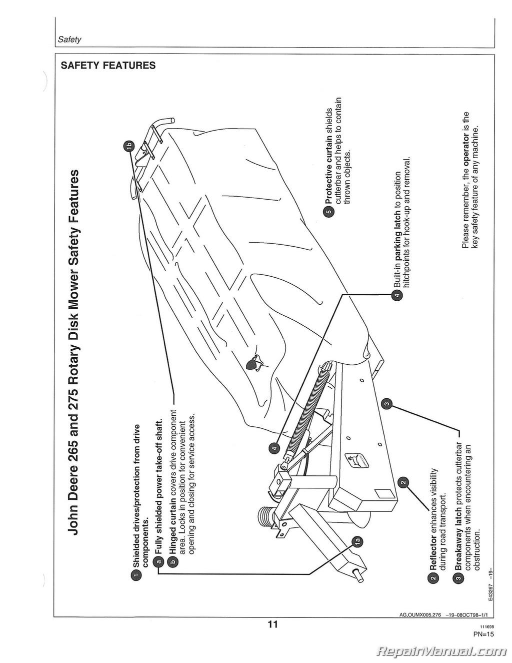 hight resolution of john deere 265 part diagram air filter