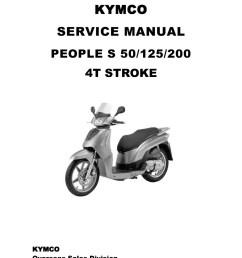 kymco people s scooter service manual  [ 1024 x 1449 Pixel ]