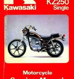 1980 1983 kawasaki kz250 motorcycle repair service manual kawasaki 250 ltd wiring diagram [ 1024 x 1384 Pixel ]