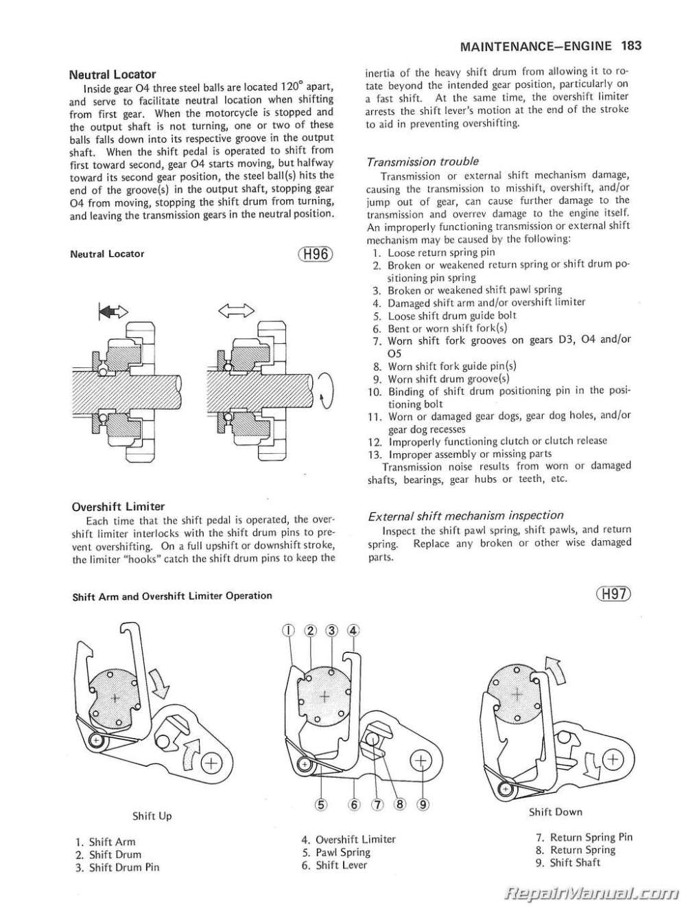 medium resolution of 1980 1983 kawasaki kz750 motorcycle service manual xs850 wiring diagram kz750 four wiring diagram