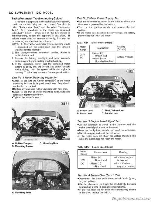 small resolution of 1980 1983 kawasaki kz750 motorcycle service manual basic wiring kz750 four wiring diagram