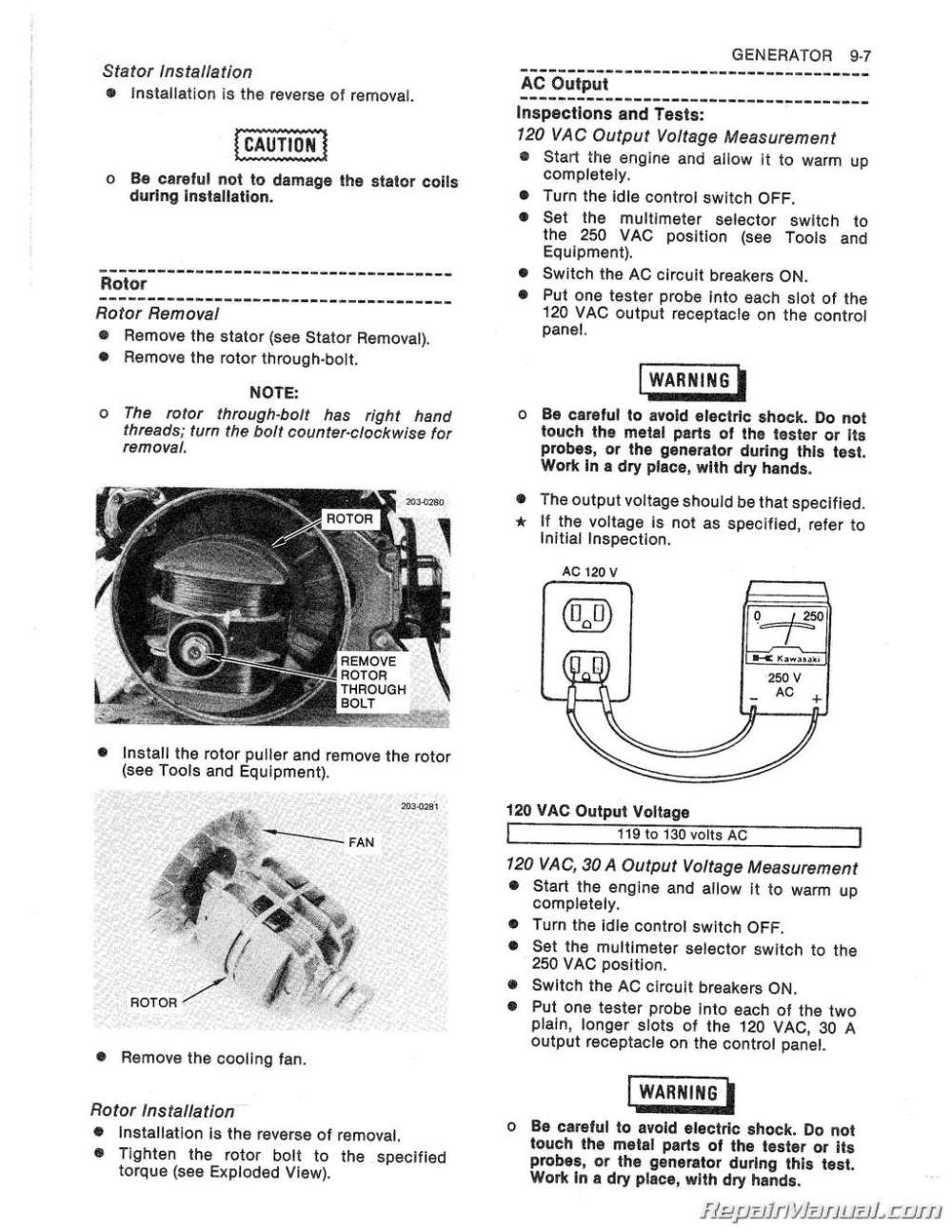 medium resolution of kawasaki generator wiring diagram wiring diagram paper kawasaki generator wiring diagram