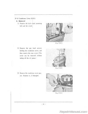 Yamaha CT1B Motorcycle Service Manual 1970 175cc  800