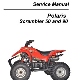 polaris 50cc 90cc scrambler atv print service manual by cyclepedia polaris wiring schematic 04 polaris scrambler 90cc wiring diagram [ 1024 x 1325 Pixel ]