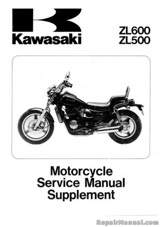 1983-1984 Kawasaki KLT250 ATV Supplement Service Manual